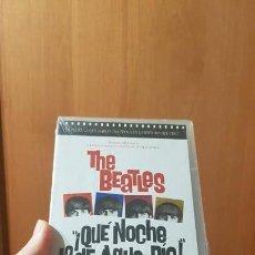 Cinéma: QUE NOCHE LA DE AQUEL DÍA VHS (PRECINTADA) THE BEATLES. Lote 135054754