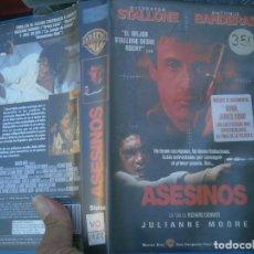 Cine: ASESINOS-VHS¡¡CAJA GRANDE¡¡. Lote 135272018