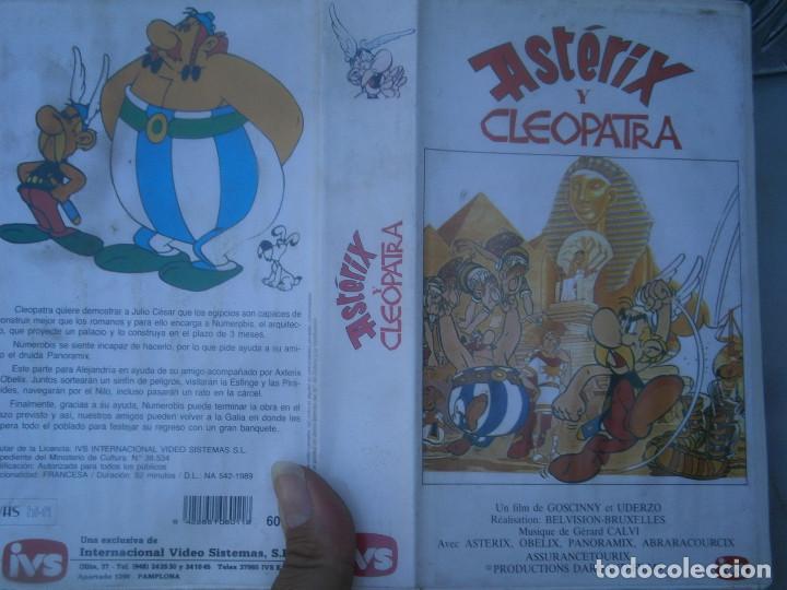 ASTERIX Y CLEOPATRA-VHS (Cine - Películas - VHS)