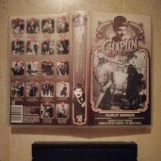 Cine: EDICION VHS ORIGINAL - CHARLES CHAPLIN - CHARLOT MARINERO. Lote 135395478