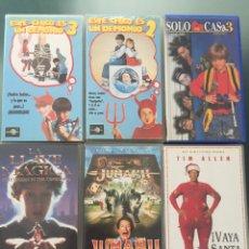 Cine: LOTE 6 PELÍCULAS INFANTILES VHS. Lote 135593171