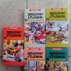 Cine: LOTE DE VHS DE MORTADELO Y FILEMON 5 VIDEOS. Lote 135595394
