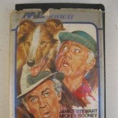 Cine: LA MAGIA DE LASSIE - PELÍCULA EN VHS - JAMES STEWART - MICKEY ROONEY.. Lote 135663163