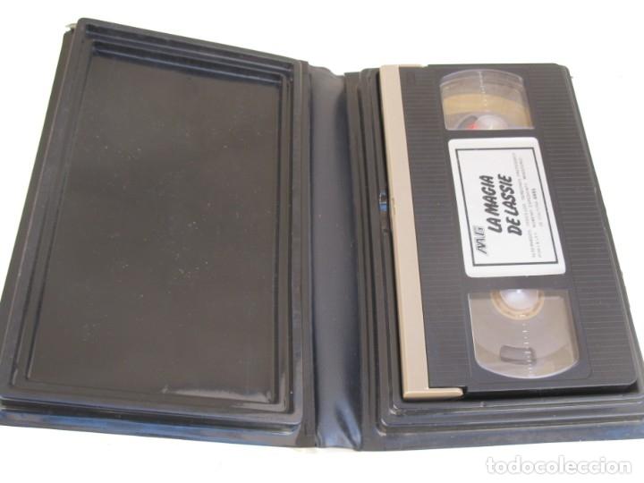 Cine: LA MAGIA DE LASSIE - PELÍCULA EN VHS - JAMES STEWART - MICKEY ROONEY. - Foto 2 - 135663163