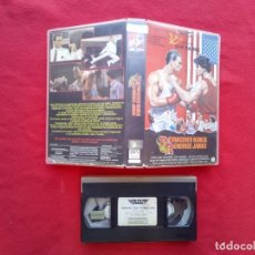 Cine: TUBAL VAN DAMME RETROCEDER NUNCA RENDIRSE JAMAS 1989 LIGHTNING VIDEO VHS 600 GRS. Lote 147982300