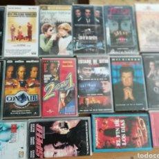 Cine: LOTE DE 43 PELÍCULAS ORIGINALES VHS, DE CINE DE ACCIÓN..... Lote 135867717