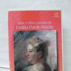 Cine: VIDA Y OBRA LITERARIA DE EMILIA PARDO BAZAN. MARGARITA ALMELA. ANA MARIA FREIRE. UNED 1997.. Lote 136070410