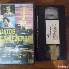 Cine: GATOS CALLEJEROS RAS LE COEUR - DANIEL COLAS - SILKE HUMEL , PATRICK CHESNAIS - BASIC 1984. Lote 136137506