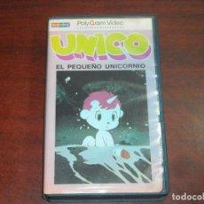 Cine: VHS - UNICO EL PEQUEÑO UNICORNIO - ORIGINAL 1977- POLYGRAM VIDEO- VER DETALLES. Lote 136144330