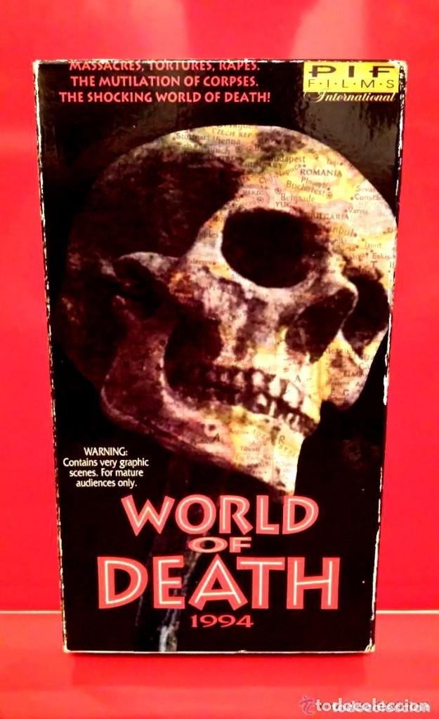 WORLD OF THE DEATH - SAGA ROSTROS DE MUERTE - (ALTO CONTENIDO VIOLENTO) (Cine - Películas - VHS)