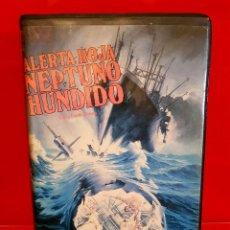 Cine: ALERTA ROJA: NEPTUNO HUNDIDO (1978) - 1ª EDICIÓN VIDEOCLUB. Lote 136231934