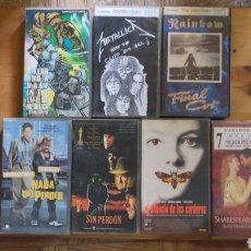 Cine: LOTE 32 CINTAS VIDEO VHS. Lote 136240368