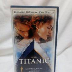 Cine: TITANIC VHS. Lote 136413621