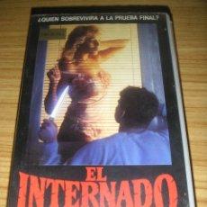 Cine: EL INTERNADO (1986) VHS - TERROR - SLASHER . Lote 136526430