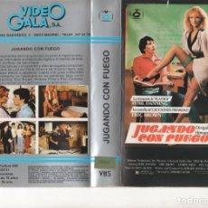 Cine: VHS - JUGANDO CON FUEGO - SYBIL DANNING. Lote 136821478