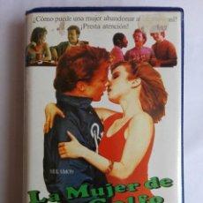 Cine: VHS - LA MUJER DEL GOLFO - MICHAEL O'KEEFE, REBECCA DE MORNAY, HAL ASHBY - COMEDIA. Lote 136895086