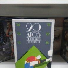 Cine: 20 AÑOS DE MUNDIALES DE FUTBOL. VHS. Lote 137128797