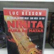 Cine: NIKITA DURA DE MATAR. VHS.. Lote 137129058