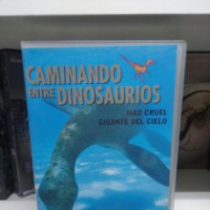 Cine: CAMINANDO ENTRE DINOSAUROS. VHS.. Lote 137129374