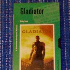 Cine: VENDO PELICULA VHS (GLADIATOR). VER 2ª FOTO EN EL INTERIOR.. Lote 137316174