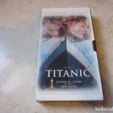 Cine: TITANIC VHS - EL MUNDO 2000. Lote 137369666