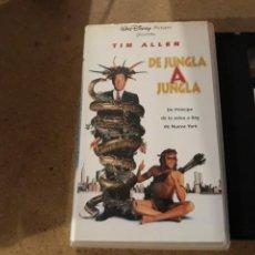 Cine: VHS- DE JUNGLA A JUNGLA- TIM ALLEN. Lote 164906208