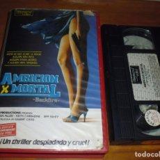 Cine: AMBICION MORTAL . VHS. Lote 137609786