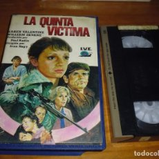 Cine - LA QUINTA VICTIMA . VHS - PEDIDO MINIMO 6 EUROS - 137609942