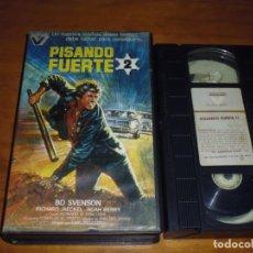 Cine: PISANDO FUERTE 2 - VHS. Lote 137650278