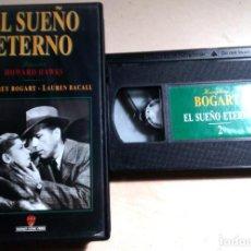 Cine: BOGART.BACALL.EL SUEÑO ETERNO.HOWARD HAWKS.Nº2.WARNER BROTHERS.1989.. Lote 137720898