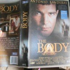 Cine: ¡THE BODY¡¡CAJA GRANDE¡¡DISPONEMOS DE MAS DE 60.000¡PELICULAS VHS BETA 2000¡. Lote 137776362