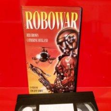 Cine: ROBOWAR (1988) D: BRUNO MATTEI - ROBOT DE GUERRA. RAREZA. Lote 137795778