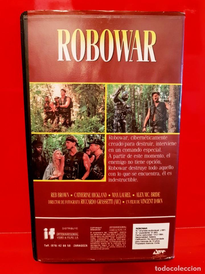 Cine: ROBOWAR (1988) D: BRUNO MATTEI - Robot de guerra. RAREZA - Foto 2 - 137795778