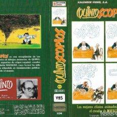 Cine: QUINOSCOPIOS - EL CREADOR DE MAFALDA - 1989 - CASI UNICA E IMPOSIBLE DE ENCONTRAR A ESTE PRECIO. Lote 137846530