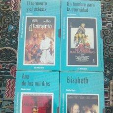 Cine: CINE EL MUNDO - SERIE COMPLETA SIGLO XVI- EL RENACIMIENTO- ELIZABETH + ANA DE LOS MIL DÍAS , ETC... Lote 137853838