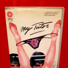 Cine: MY TUTOR (1984) - GEORGE BOWERS - CAREN KAYE , MATT LATTANZI - OPALO FILMS. Lote 137877506