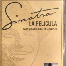 Cine: ''SINATRA, LA PELÍCULA'' (EDICIÓN DE 1998 EN VHS). Lote 137949582