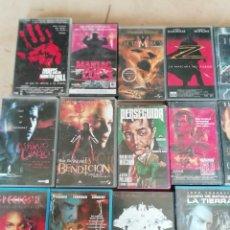 Cine: LOTE 33 PELÍCULAS VHS DE CINE DE TERROR, ACCION.... Lote 138155941
