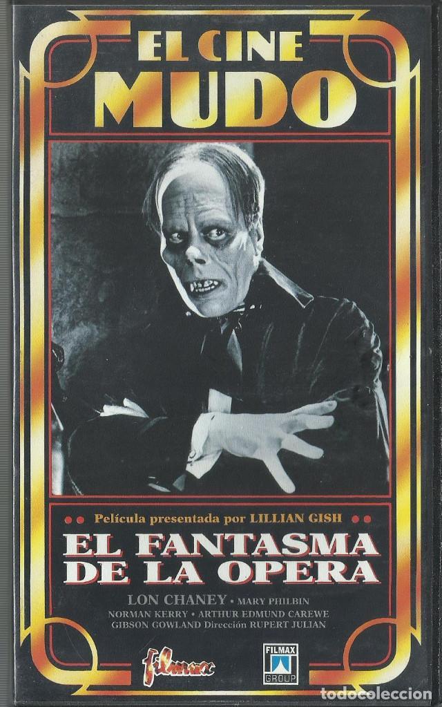EL FANTASMA DE LA OPERA 1925 (CINE MUDO) (Cine - Películas - VHS)