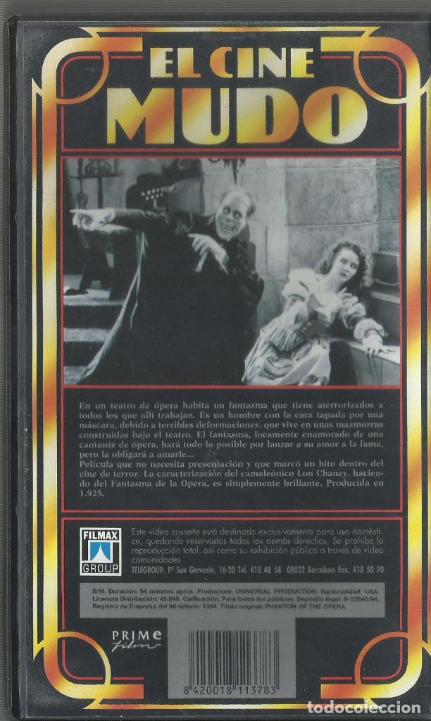 Cine: El Fantasma de la Opera 1925 (Cine Mudo) - Foto 2 - 138192990
