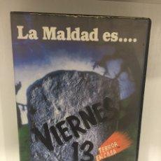 Cine: VIERNES 13, TERROR EN CASA. Lote 138255930