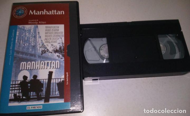 WOODY ALLEN.DIANE KEATON.MANHATTAN. (Cine - Películas - VHS)