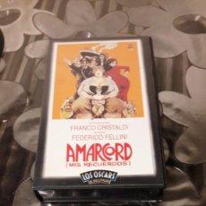 Cine: AMARCORD (MIS RECUERDOS) - VERSION VHS - 1974. Lote 138614386