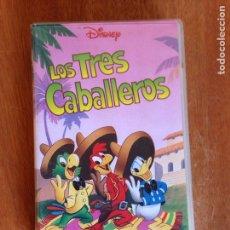 Cine: LOS TRES CABALLEROS - DISNEY. Lote 138618974
