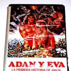 Cine: ADAN Y EVA LA PRIMERA HISTORIA DE AMOR (1983) - E. DORIA L. RUSSO MARK GREGORY ANDREA GOLDMAN VHS. Lote 171638465