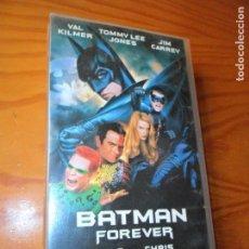 Cine: BATMAN FOREVER - VHS -. Lote 138736694