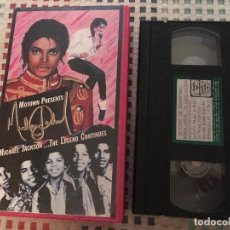 Cine: MICHAEL JACKSON THE LEGEND CONTINUES VHS BETA VCC 1988 KREATEN. Lote 242149675