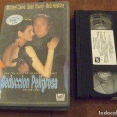 Cine: SEDUCCION PELIGROSA BLUE ICE - RUSSELL MULCAHY - MICHAEL CAINE , SEAN YOUNG - CBS FOX 1993. Lote 139238498