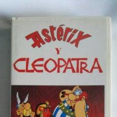 Cine: ASTÉRIX Y CLEOPATRA VHS. Lote 139429930