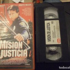 Cine: MISION DE JUSTICIA - STEVE BARNET - JEFF WINCOTT , BRIGITTE NIELSEN - IVS 1992. Lote 139452382
